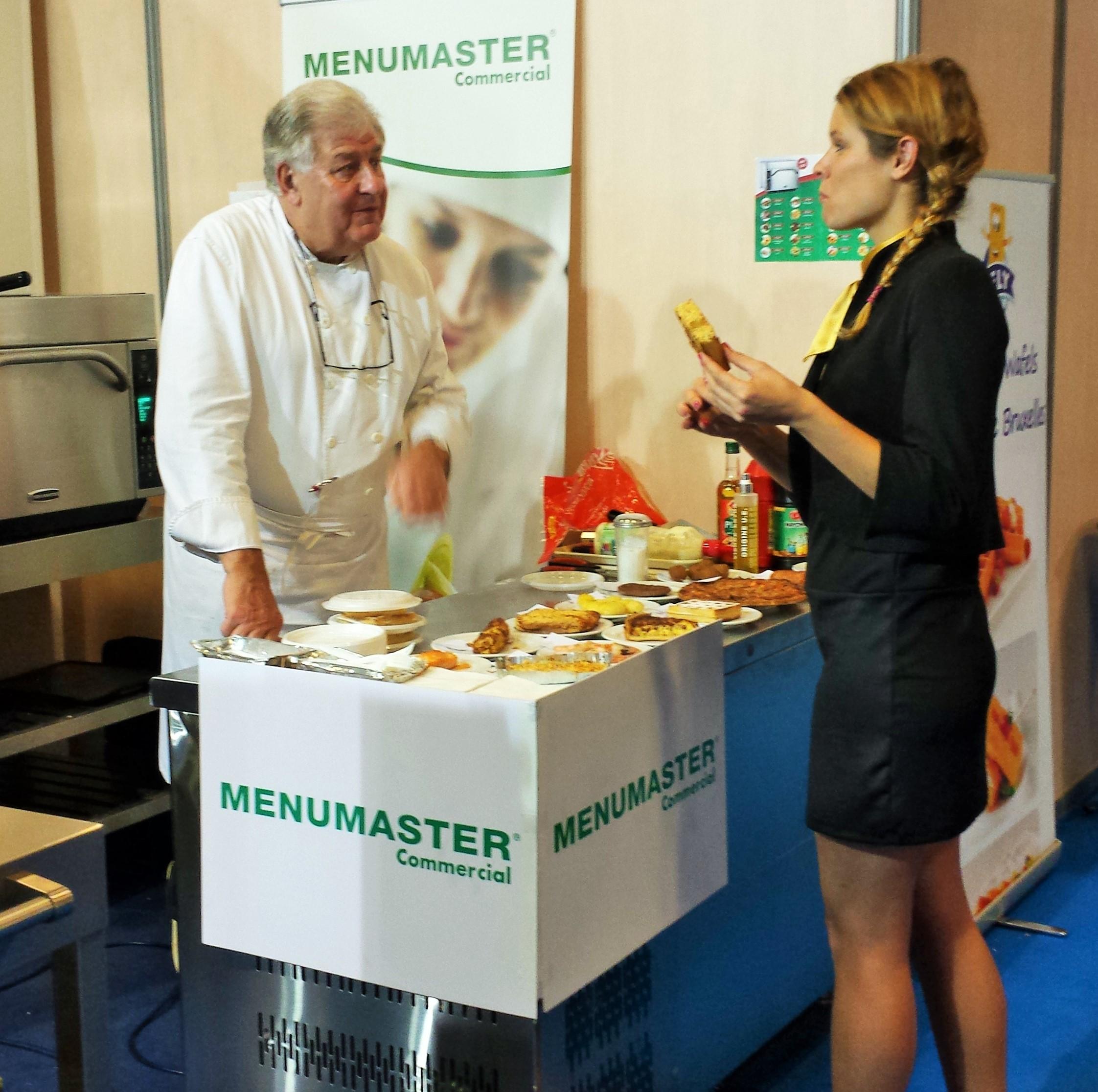 2014-Paris (France) plein d'admiration pour le chef